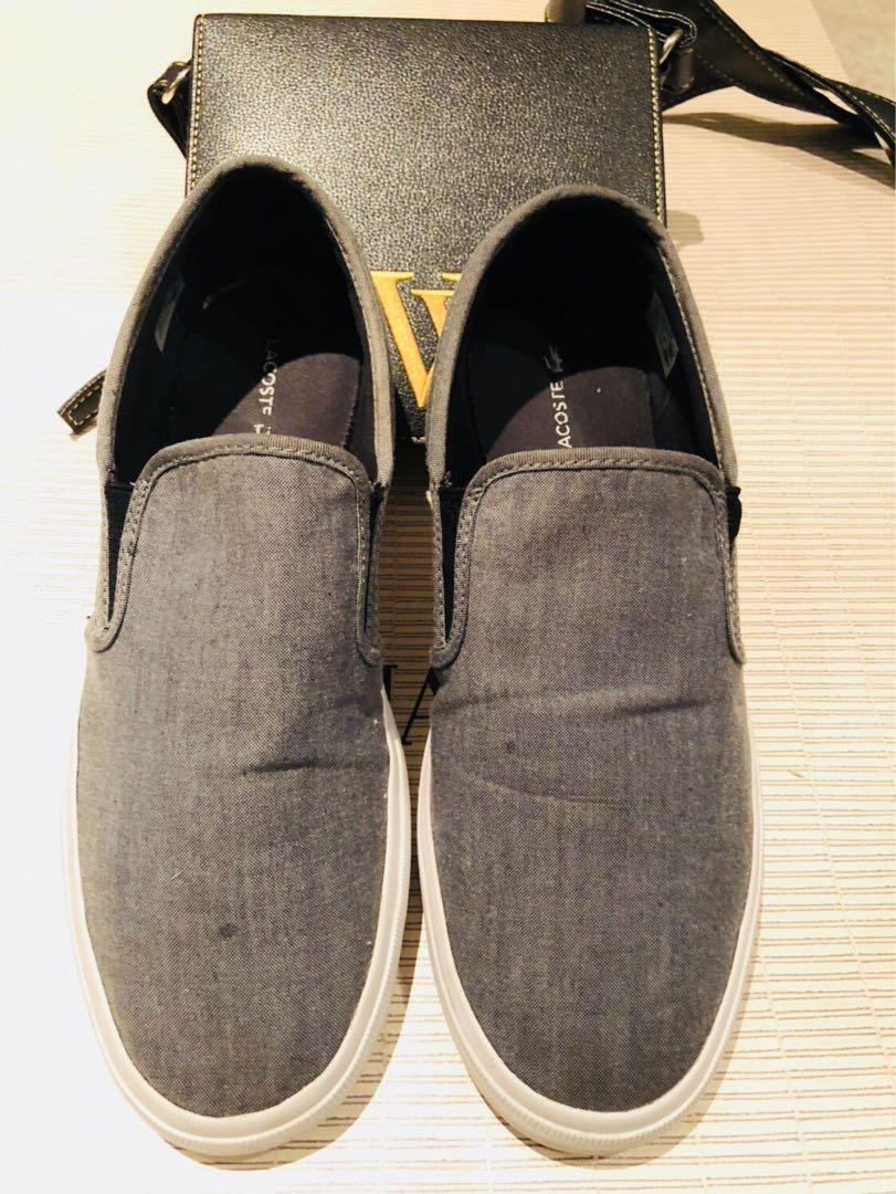 Lacoste Mens Slip on / loafers