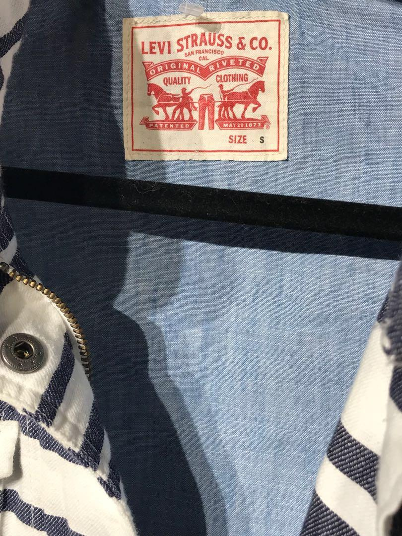 Levi Strauss Linen Blend Jacket Small