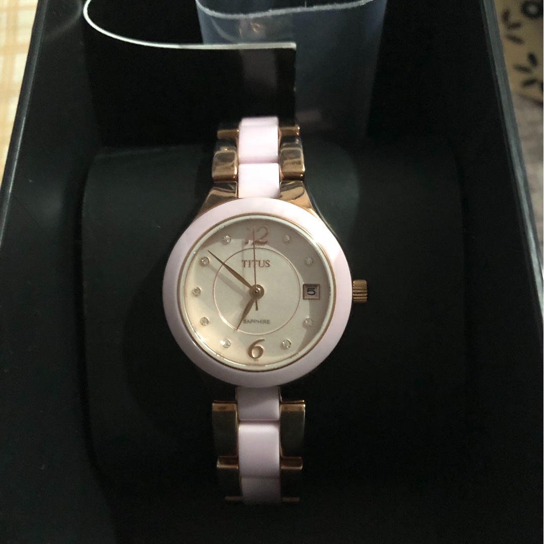 d8934c373 Lovely Titus ceramic watch, Women's Fashion, Watches on Carousell