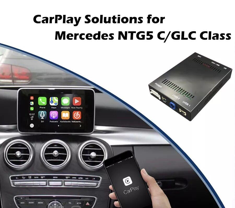 Mercedes A/B/CLA/GLA 2013-2015 NTG 4 5/4 7 Apple CarPlay and