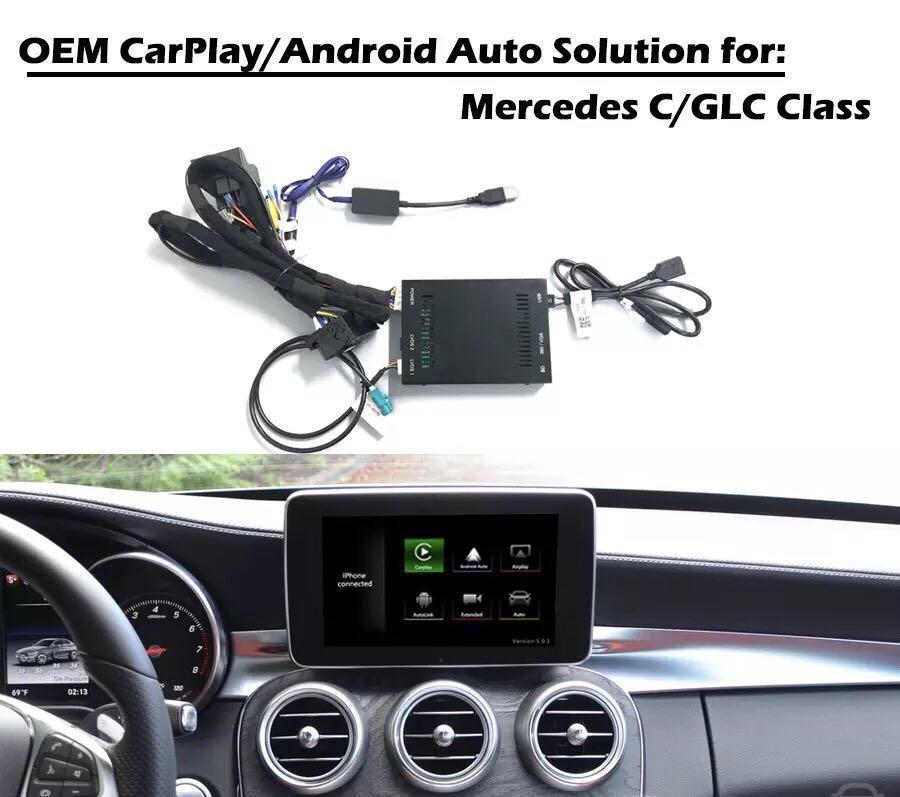 Mercedes A/B/CLA/GLA 2013-2015 NTG 4 5/4 7 Apple CarPlay and