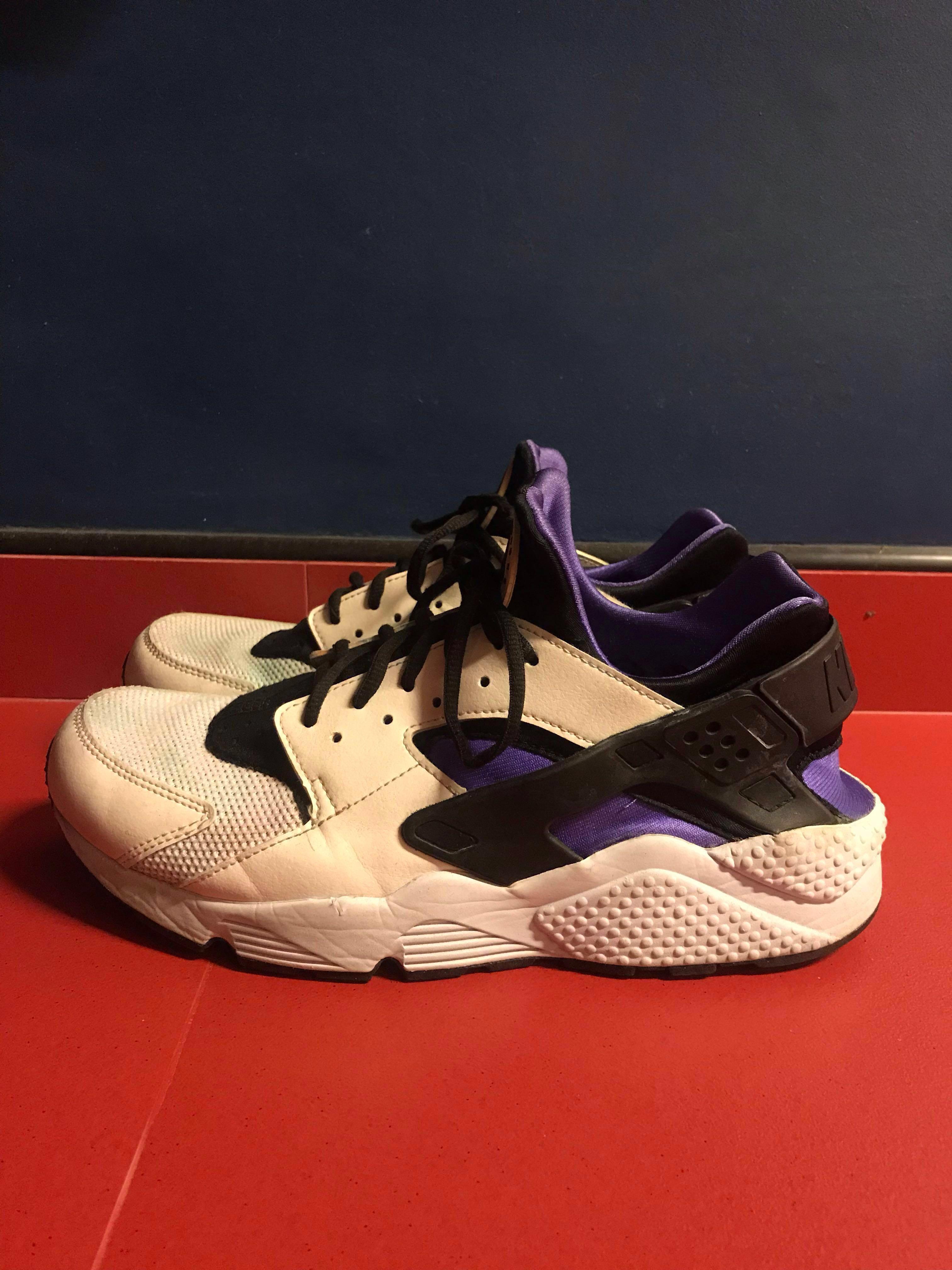 low priced cf88c 8d79c Nike Huarache (OG Purple) 💥, Men's Fashion, Footwear ...
