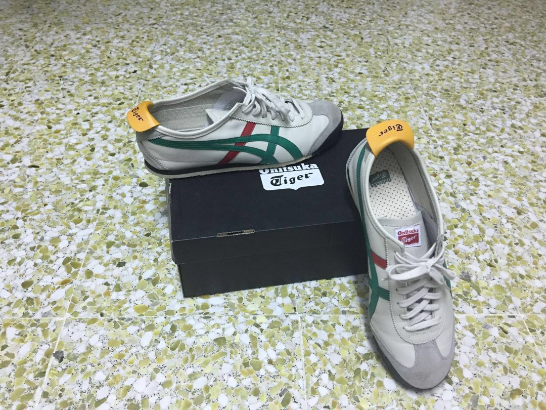 new styles f1a77 c2d07 Onitsuka Tiger Mexico 66 Birch/Green Size US 11, Men's ...