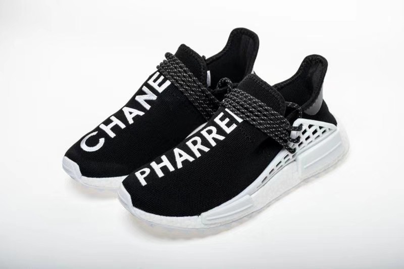 the best attitude 52ac0 74e3b Original Pharrell Williams X Chanel X Adidas NMD Human Race REAL BOOST