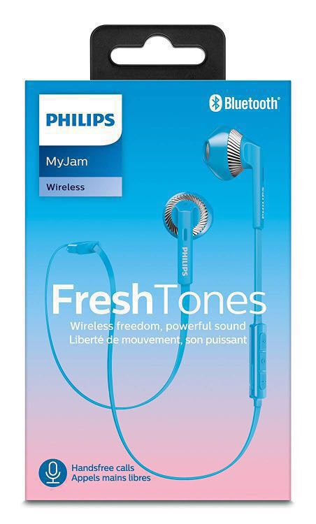 b009406707b Philips Myjam wireless bluetooth earphones, Music & Media, Music ...