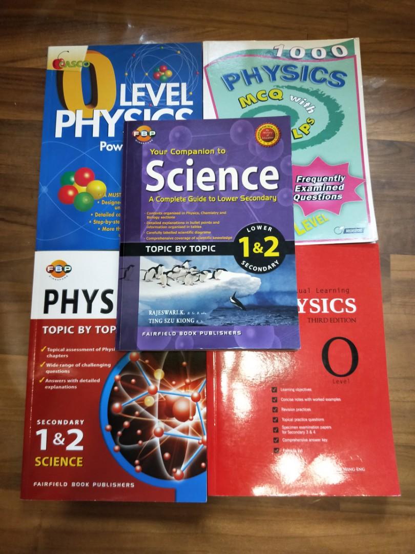 Physics, Amath, Chinese Books, Books & Stationery, Textbooks