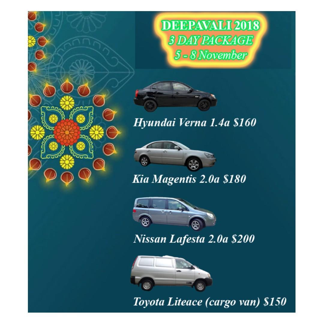 p plate welcome deepavali car rental package cars vehicle rh sg carousell com