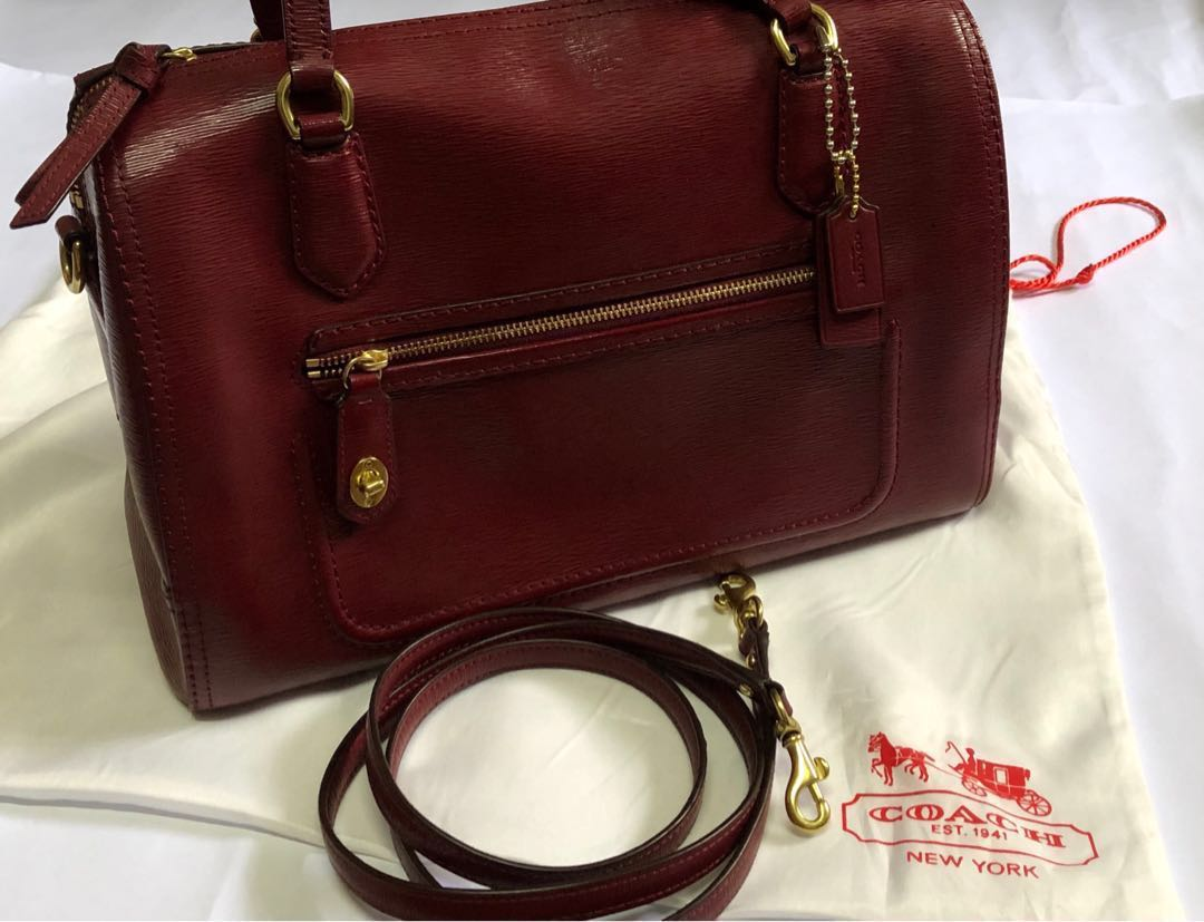 e2ef72a128ee Preloved Authentic Coach F25062 Poppy Satchel