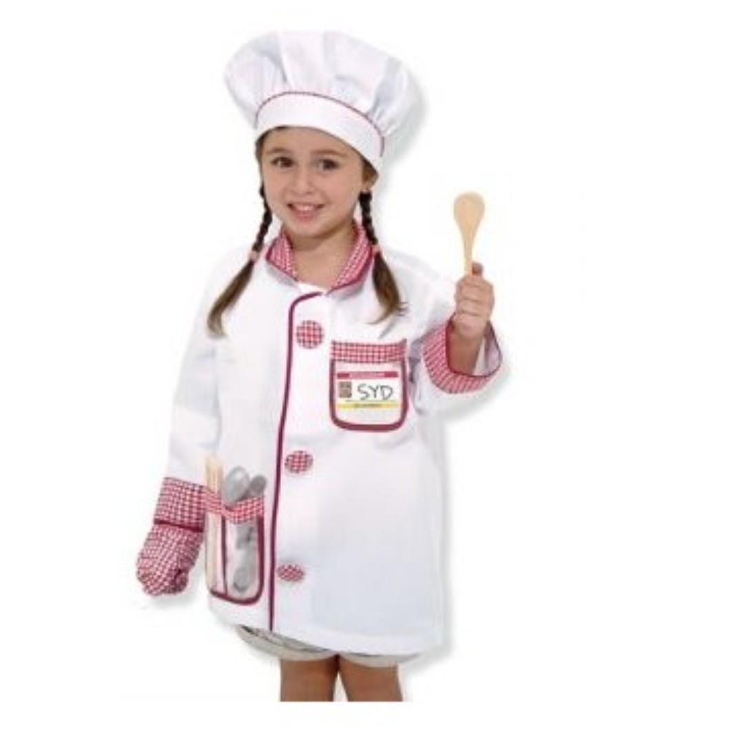 RENT: Chef Child Costume, Babies & Kids, Girls' Apparel, 4