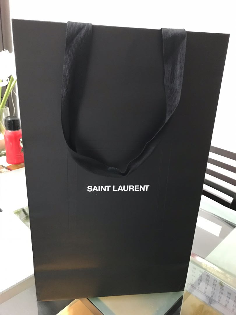 6d9d507a8db Saint Laurent paper bag