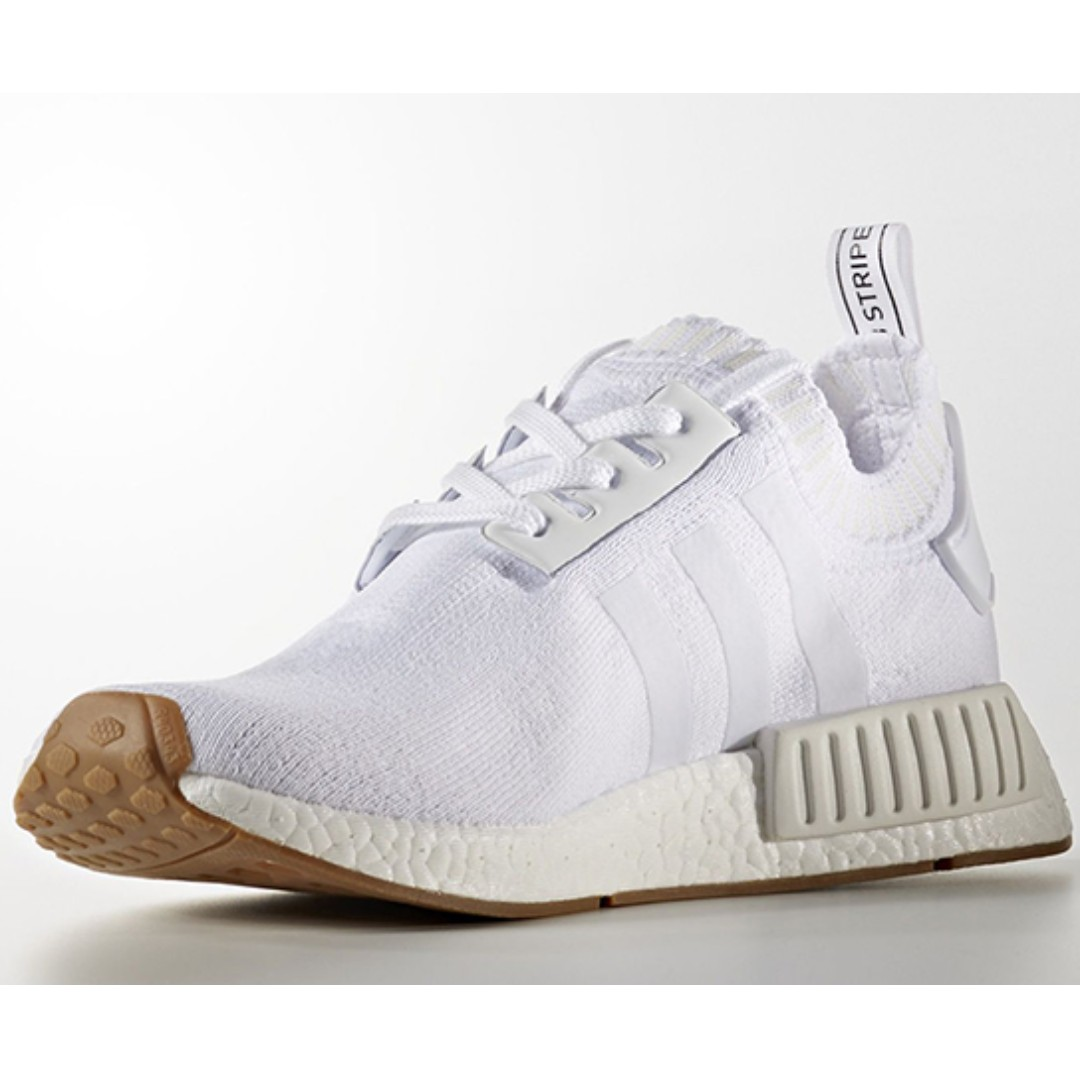 31779da24 SALE  NMD R1 PK Gum Pack White US 11.5