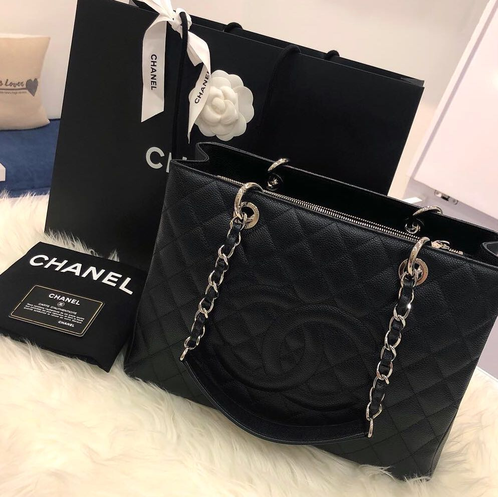87f015d9b324 ❌SOLD!❌ Superb Deal! Chanel GST in Black Caviar SHW, Luxury, Bags ...