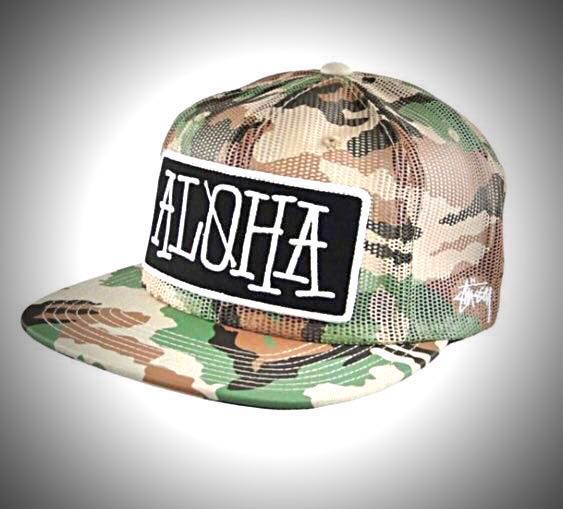 Stussy Camo Snapback Cap Size  Adjustable (LAST ONE) 💯 % Authentic   New 19940dd488e