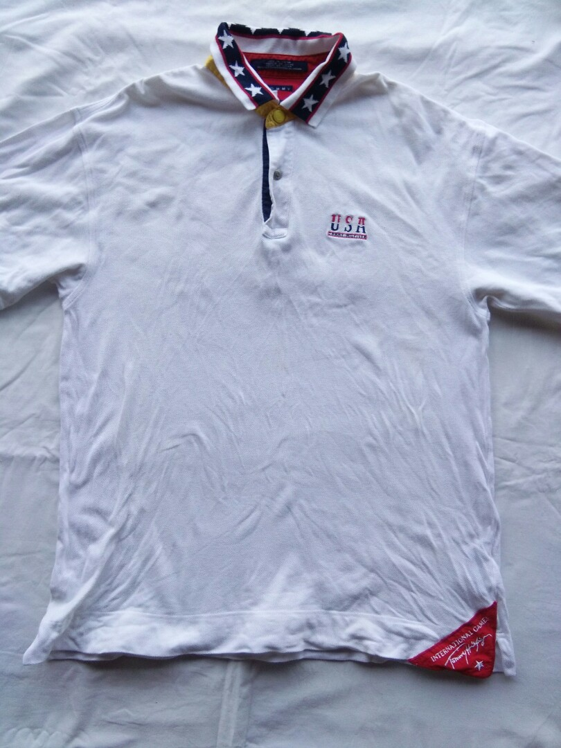 90ba7324 Tommy hilfiger polo shirt, Men's Fashion, Clothes, Tops on Carousell