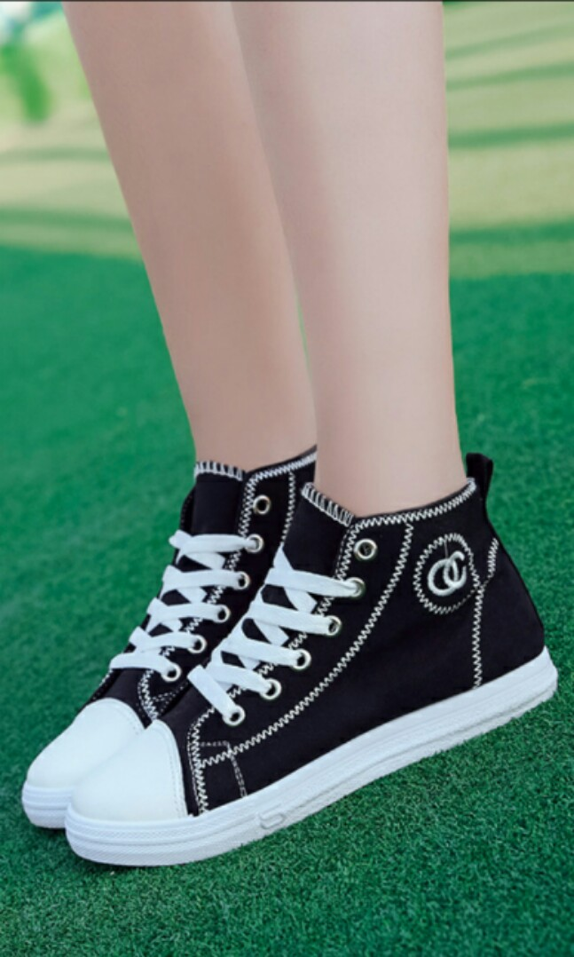 597523799 Ulzzang korean style casual sneakers canvas shoe woman ladies female ...