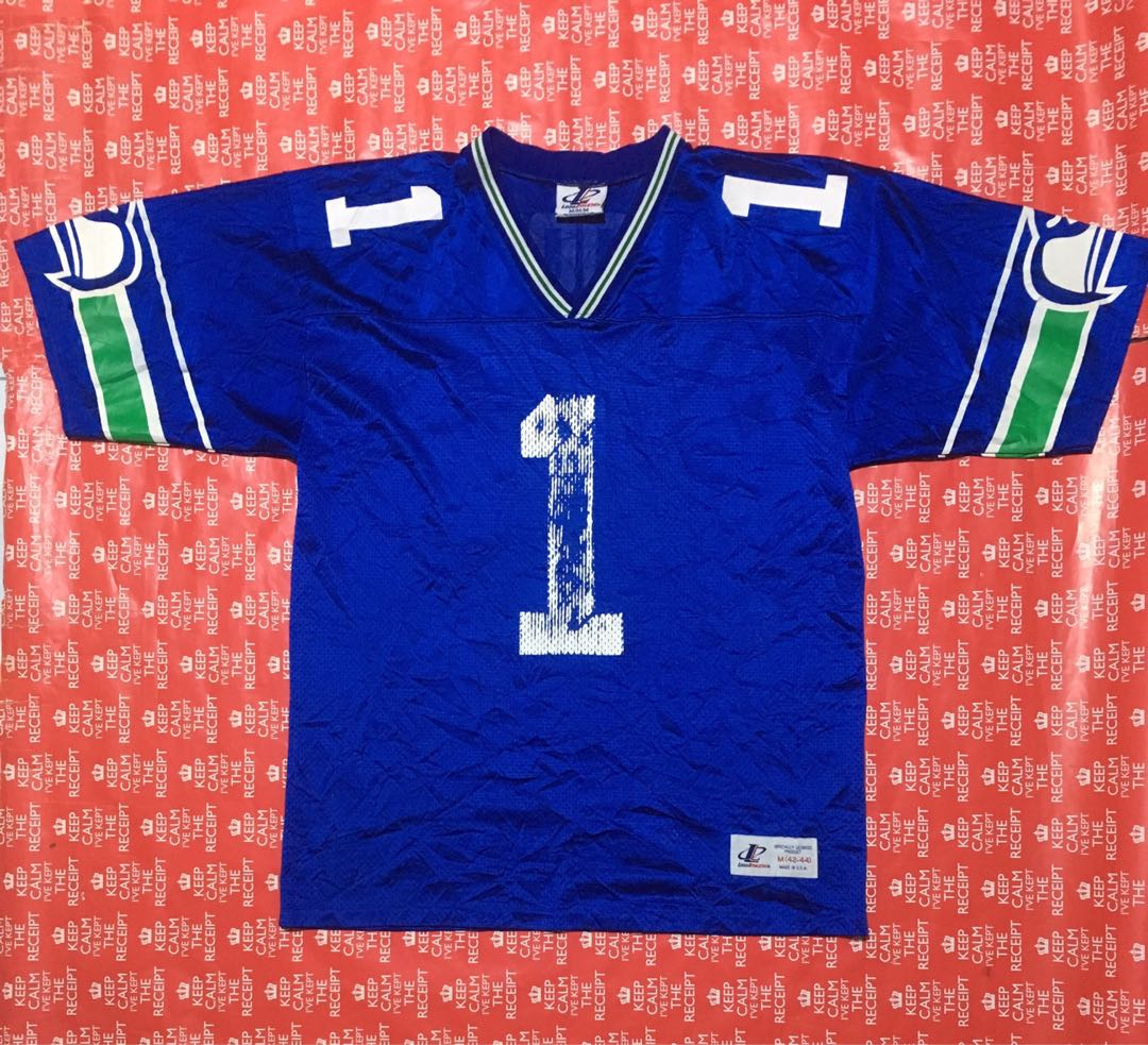 new product 27a7f 2fea2 Vintage Seattle Seahawks Jersey