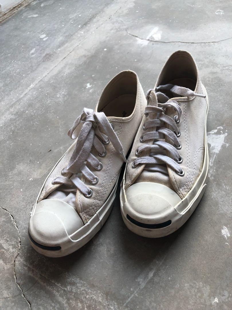 0a42405b084 White Jack Purcell Converse Chucks
