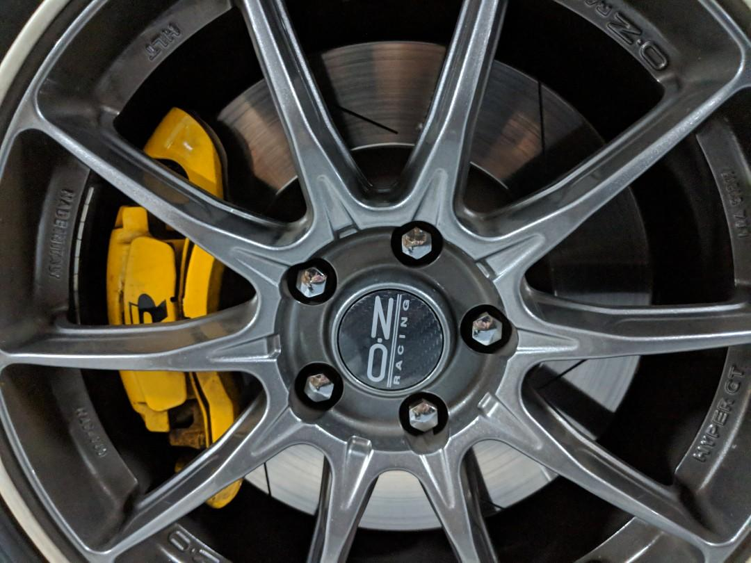 Wts Golf R Brake Kit With Brembo Slotted Rotors Amp Almost
