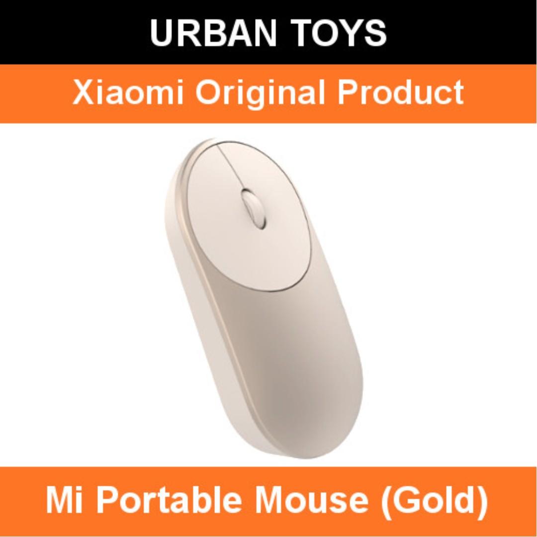 404c95f7055 Xiaomi Mi Portable Mouse (Gold) / Bluetooth 4.0 / 2.4G Wireless USB ...