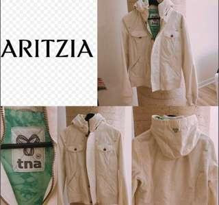 Aritzia Women's canvas White Jacket Size Medium