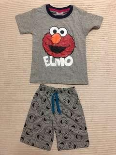 Elmo Short Set