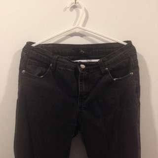 Forever 21 Black Skinny Jeans #oct10