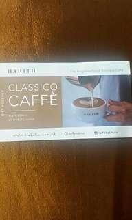 Habitu 咖啡禮券