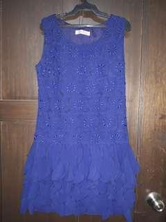 Cute blue dress