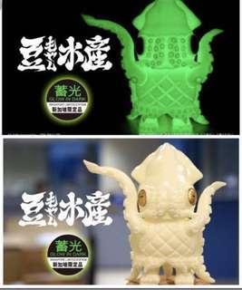 Mame moyashi Stgcc glow in dark squid