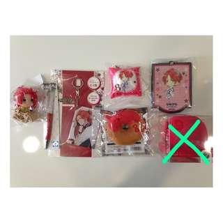 Tsukiuta-The Animation:Haduki You Merchandise set 5- Random set/Per