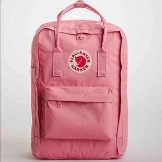 Fjallraven 15-Inch Laptop Backpack in Pink