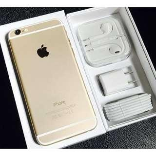 iPhone 6Plus 128gb Gold Openline & Complete set.