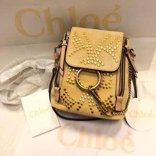 🚚 正全新Chloe faye day backpack 可放長夾斜背包側背包手提包後背包 mini