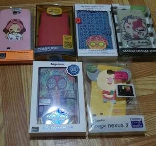 Rare Samsung Note 2 Case Bundle (all for Php230!)