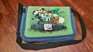 [INC POST]ben 10 sling bag / tuition bag