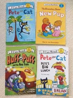 I Can Read Story Books