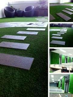 Desain Rumput Sintetis Dekorasi Ruangan,Jual Plus Pemasangan