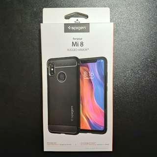 Xiaomi Mi8 Spigen Rugged Armour case