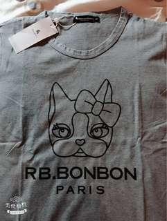 🚚 rebecca bonbon 上衣 t恤 短袖棉t 台灣製造