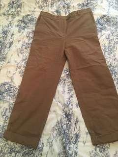 "COS Brown ""Worker"" Pants"