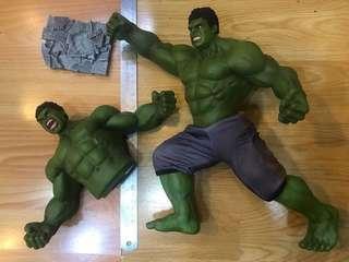 KING ARTS FFS0051/9 Avengers AOU Hulk Statue 復仇者聯盟 變形俠醫 不可能動 綠巨人 眼睛可轉動 Figure