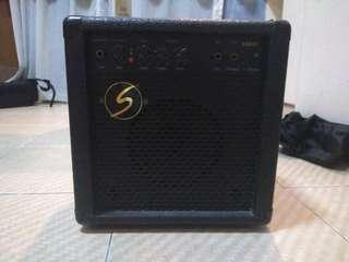 Samick electric or acoustic guitar amplifier