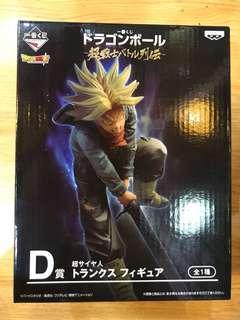 Banpresto 日本版 一番抽賞 DRAGON BALL 龍珠 SSGSS 超級撒亞人 超戰士列傳 D賞 杜拉格斯 全1種