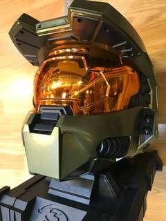 HALO MASTER CHIEF 1/1 Head Collectibles Figure 1個頭盔擺設