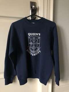 Vintage Queens University Sweater