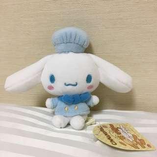 Japan Tokyo Sanrio Cinnamoroll 廚師 造型 公仔 細公仔