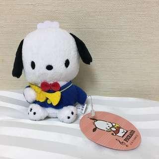 Japan Tokyo Sanrio PC狗 音樂家 細公仔 公仔