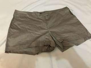 H&M Taupe Shorts (BNEW)