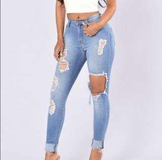 Fashion Nova Jeans size 3