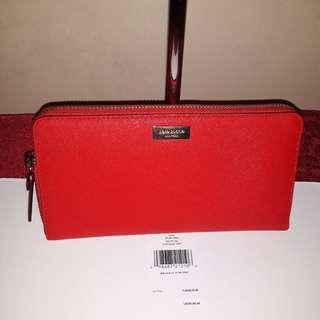 Authentic Kate Spade Neda red wallet